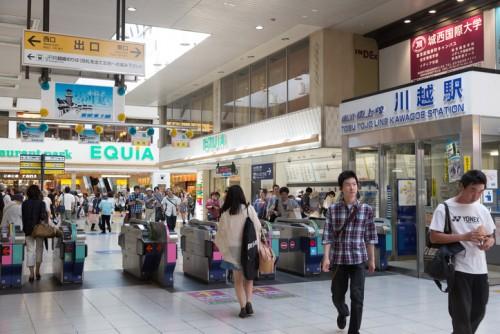 川越駅 駐車場