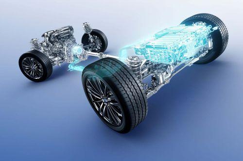 スバル車 ハイブリッドシステムイメージ図