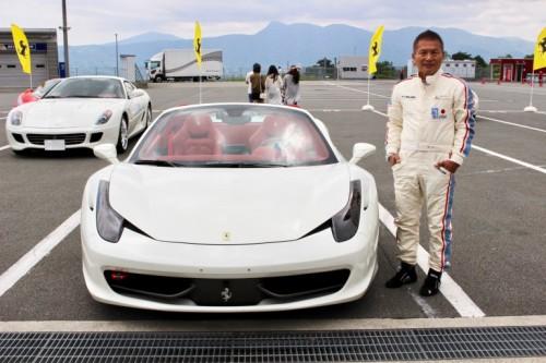 フェラーリ 458 スパイダー