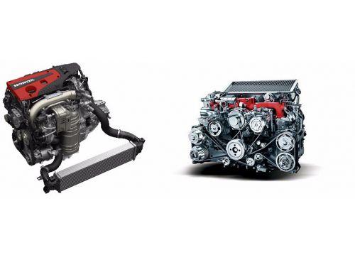 ホンダ新型シビックタイプR スバル WRXSTI エンジン