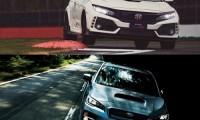 【ライバル車比較】新型シビック タイプR VS WRXSTI/S4