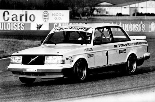 ボルボ 240 ターボ レーシングカー 1985年