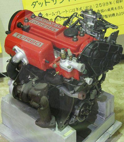 CB-50型ディーゼルエンジン