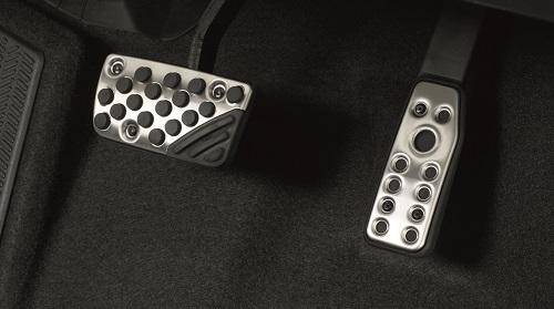 ホンダ新型フィット 純正カスタムパーツ スポーツペダル(アルミ製)