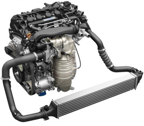 ホンダ 新型 シビック 1.5L VTEC TURBOエンジン