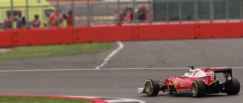 ベッテル 2016 British GP