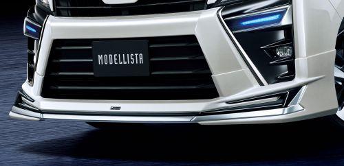 トヨタ 新型ヴォクシー モデリスタフロントスポイラー