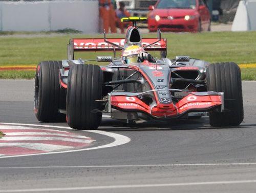 ルイス・ハミルトン 2007カナダGP