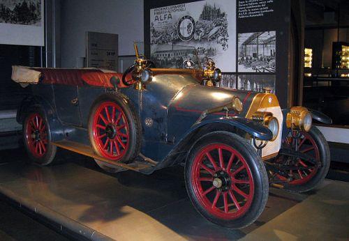 アルファロメオ A.L.F.A.24HP