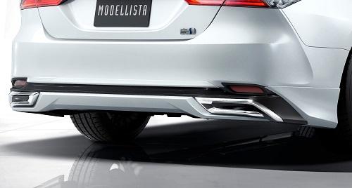 2017年 トヨタ新型カムリ モデリスタ リヤスカート