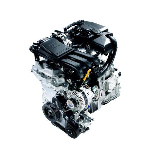 マーチ 3気筒HR12DEエンジン