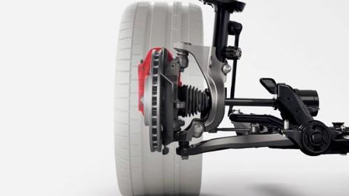 新型シビックタイプR サスペンション