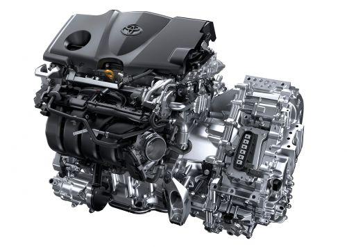 トヨタ 新型 カムリ ダイナミックフォースエンジン2.5