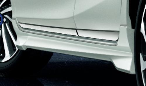 2017年~ トヨタ アクア モデルスタ エアロキット サイドスカート