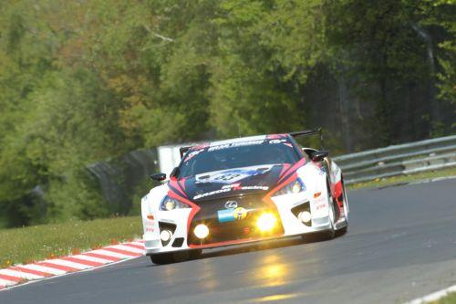 2012年ニュルブルクリンク24時間耐久レース GAZOO Racing LEXUS LFA