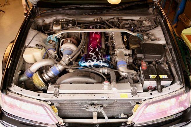 マキシマム ザ ホルモン 上ちゃん トヨタ JZX100 マークII 1JZ-GTEエンジン