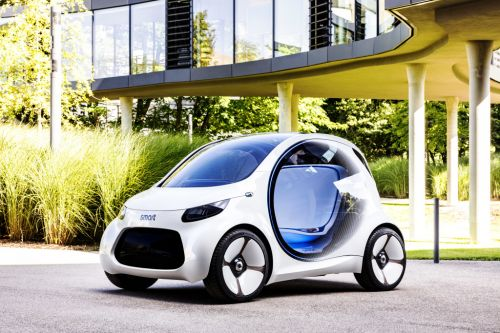 スマート 新型 EV コンセプト