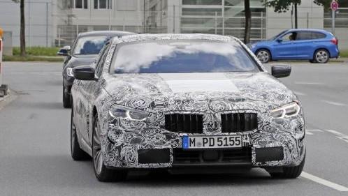 BMW 新型8シリーズ スパイショット 201708