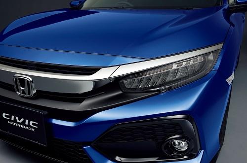 フロントグリル(クロームメッキ)Premium Sporty for 新型シビックハッチバッグ