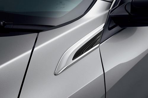 新型シビックセダン フェンダーガーニッシュ(クロームメッキ/左右セット)Premium Sporty for SEDAN