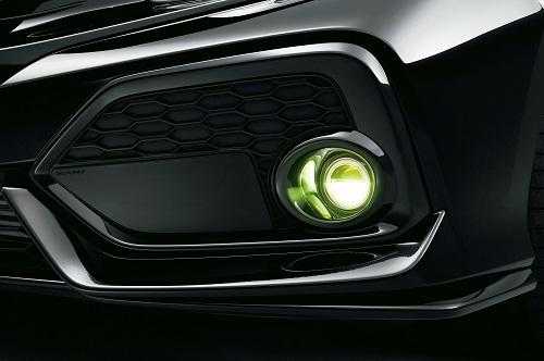 LEDフォグライト 新型シビックハッチバッグ セダン