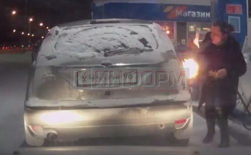 ガソリン 引火 ロシア