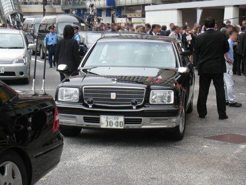 首相専用車 センチュリー