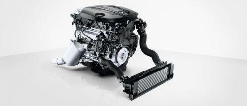 BMW 4気筒ディーゼルエンジン