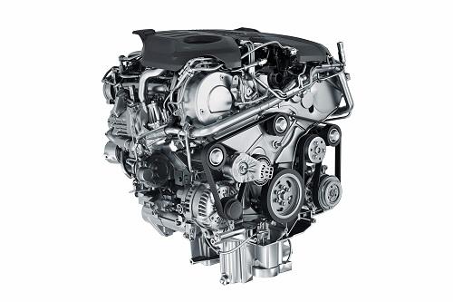 ジャガーFペース パワートレイン エンジン