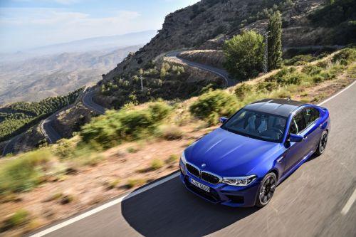 BMW 新型 M5 2017年8月
