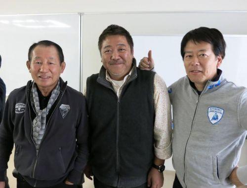 BMメンバーと黒澤元治さん