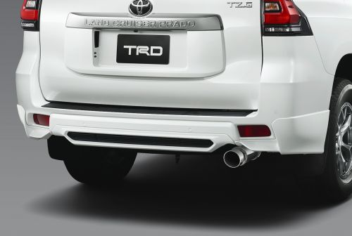 トヨタ ランドクルーザープラド リヤスポイラー TRD