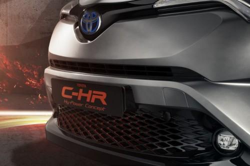 トヨタc-hr hypowerconcept 2017 フランクフルトモーターショー
