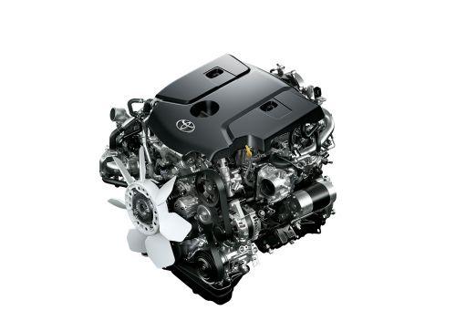 トヨタ ハイラックス 2017年型 エンジン