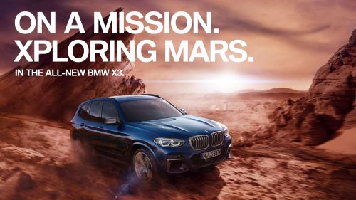 BMW X3 ON A MISSION