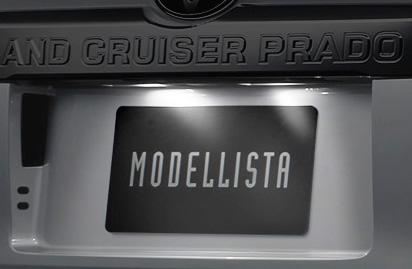 トヨタ ランドクルーザープラド LEDライセンスランプ モデリスタ