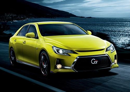 """2014 トヨタ マークX 350S """"G's"""" """"Yellow Label"""" (アウェイクンイエロー)"""