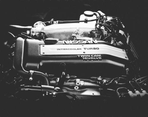 日産 シルビア S14 SR20DETエンジン