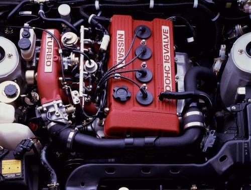 日産 シルビア FJ20ET型エンジン
