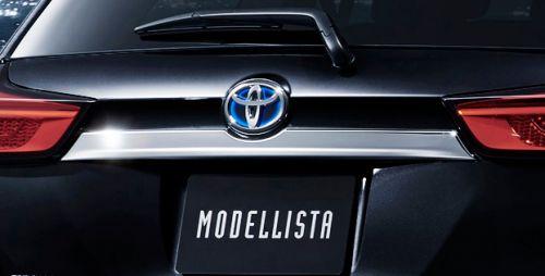 新型 カローラ フィールダー モデリスタ クールシャインキット ミラーガーニッシュ リヤライセンスガーニッシュ_フィールダー