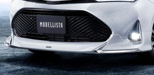 新型 カローラ フィールダー モデリスタ エアロキット フロントスポイラー