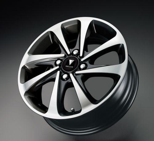 新型 カローラ フィールダー モデリスタ クールシャインキット 15インチ-アルミホイールセット