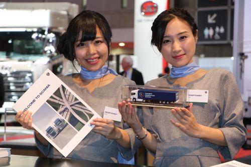 SCANIA(スカニア) 東京モーターショー2017 コンパニオン