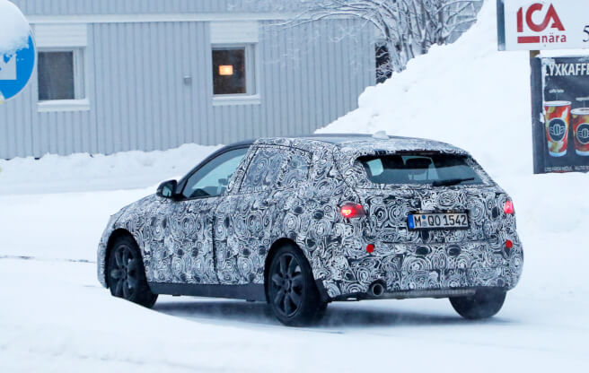BMW 1シリーズ スパイショット