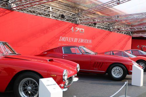 フェラーリ 70年記念イベント