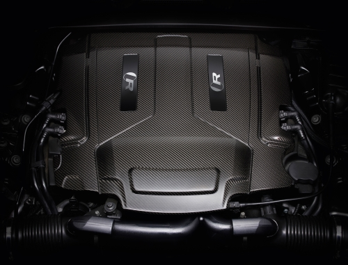 ジャガー 新型 XJR575 エンジン