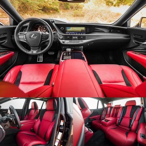 レクサス新型LS 500 F Sport