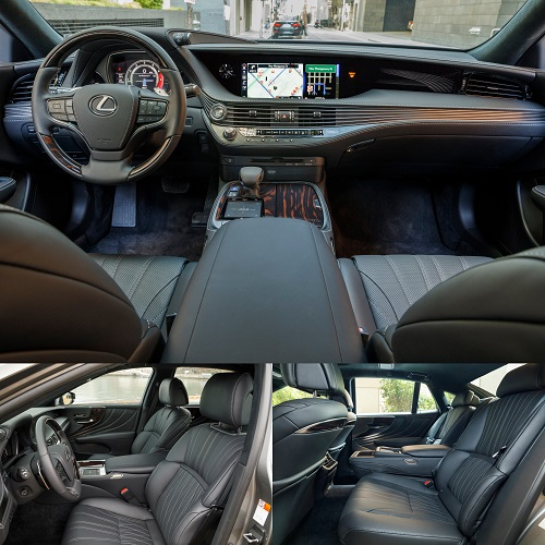 レクサス新型LS 500 Executive Package 2017