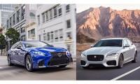 【レクサスLS vs ジャガーXF】ライバル車徹底比較!