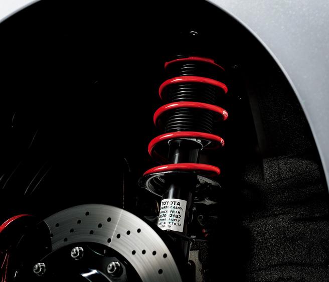 トヨタ 86 GR 専用ザックス製ダンパー